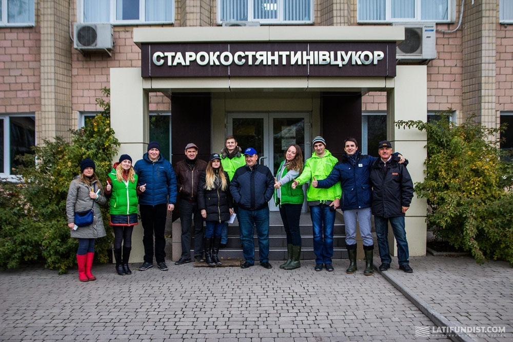 АгроЭкспедиторы на Староконстантиновском сахарном заводе